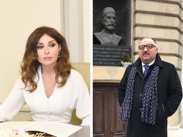 Бахрам Багирзаде рассказал о встрече с Мехрибан Алиевой, на которой был обсужден вопрос об установке памятника Тагиеву