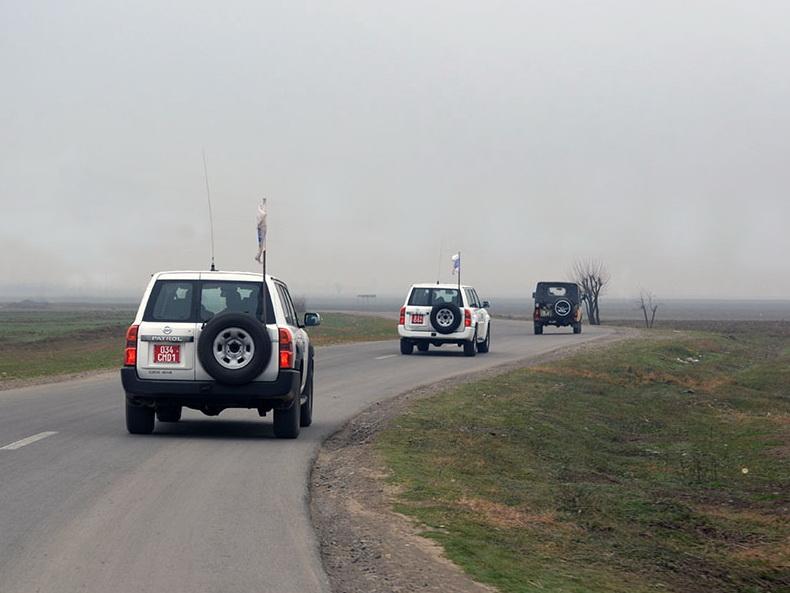 Мониторинг ОБСЕ прошел без инцидентов