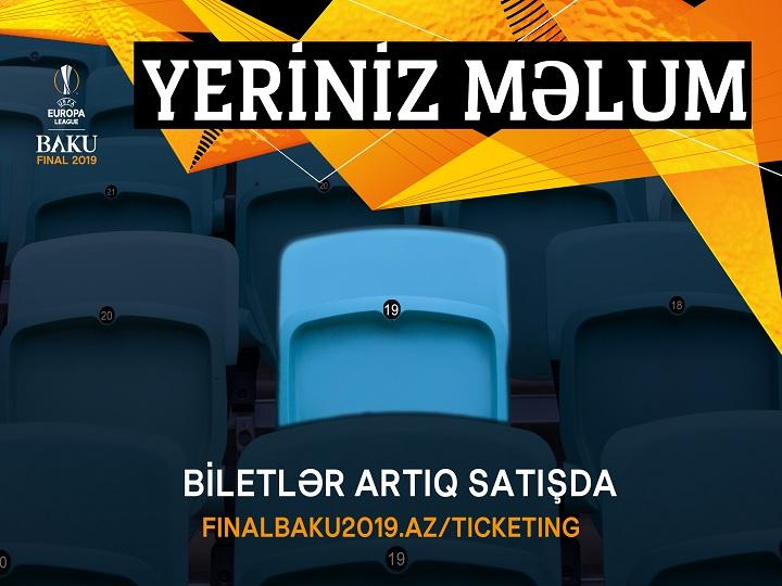 Avropa Liqası finalı üçün bilet satışına 8 gün qaldı