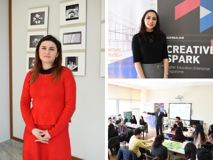 Бизнес-навыки как требование времени: Молодежь Азербайджана в проекте Creative Spark от British Council – ФОТО – ВИДЕО