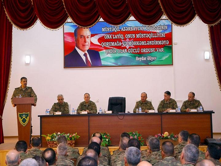 Azərbaycan Ordusunun genişmiqyaslı təlimləri başa çatıb - FOTO
