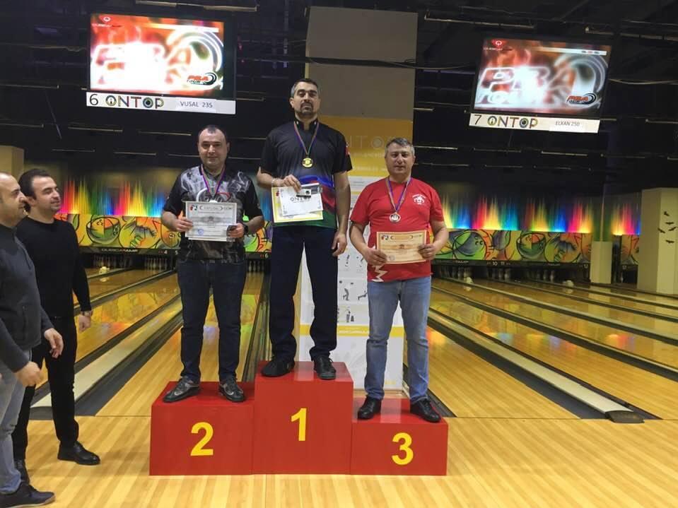 Названы победители седьмого тура чемпионата Азербайджана по боулингу