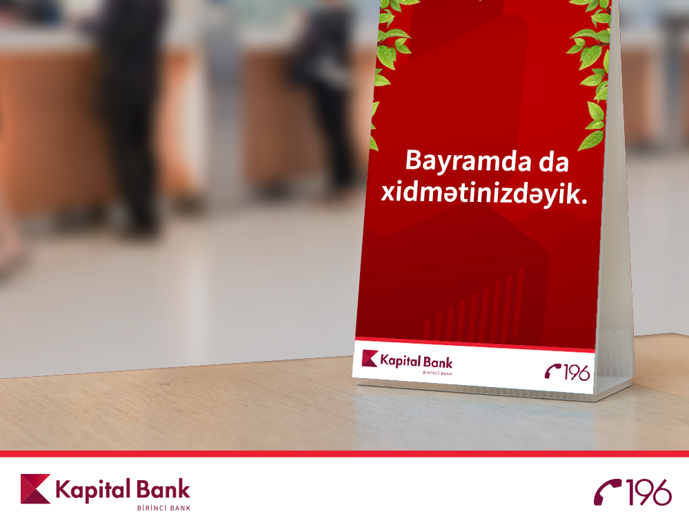 Kapital Bank kreditlərin sığorta haqqını ödəyəcək