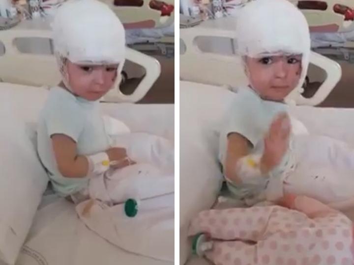 Новости о маленькой Анжеле: Малышка идет на поправку – ФОТО - ВИДЕО