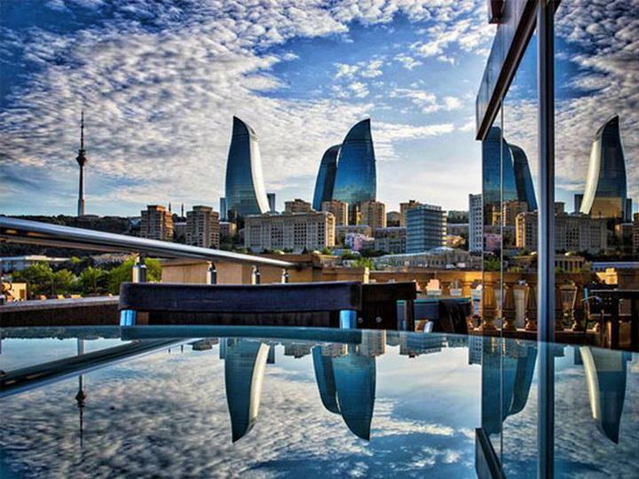 В четверг в Баку пасмурно, без осадков