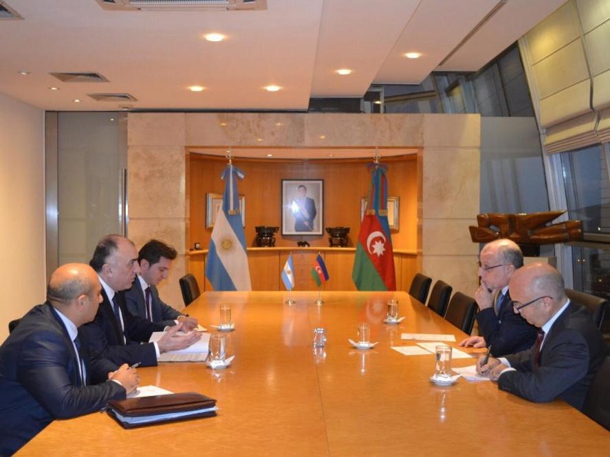 Обсуждены перспективы сотрудничества между Азербайджаном и Аргентиной