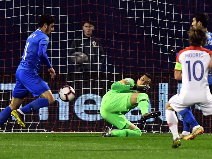 Достойная игра в Загребе: Азербайджан проиграл Хорватии – ФОТО – ВИДЕО - ОБНОВЛЕНО