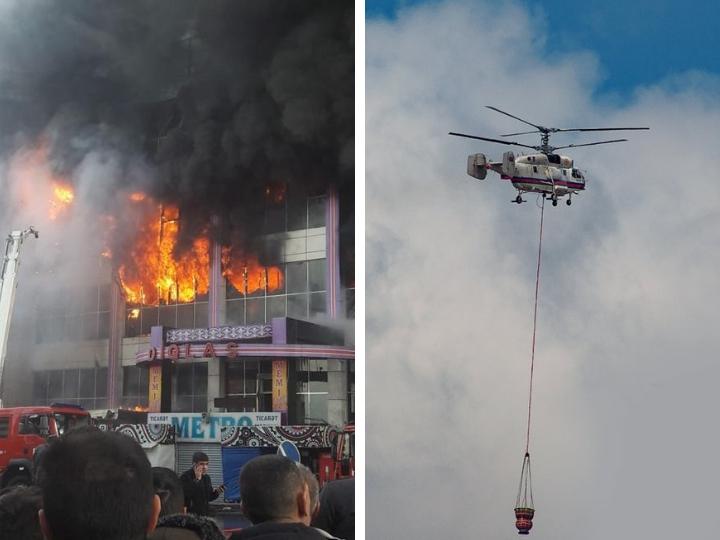 Сгоревший торговый центр Diqlas снесут? - ФОТО - ВИДЕО – ОБНОВЛЕНО