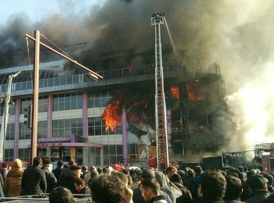 Расширен список ТЦ, где пострадавшим от пожара предпринимателям предлагаются места для продолжения своего бизнеса