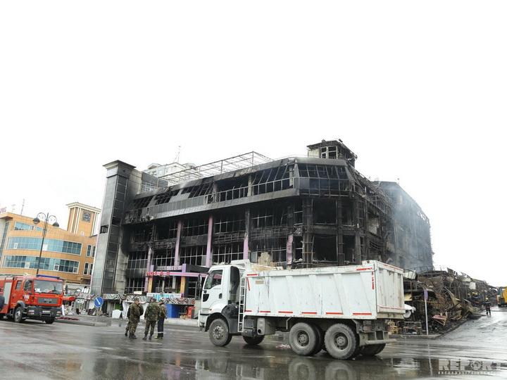 Состоялось первое заседание Комиссии, созданной в связи с пожаром в торговом центре «Диглас»