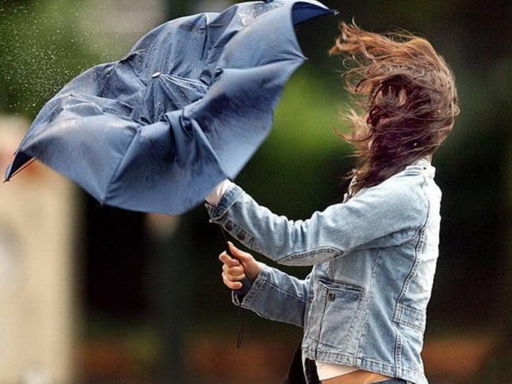 В Баку в субботу ветрено и дождливо