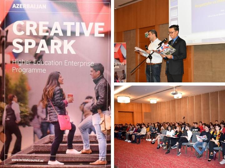 «Creative Spark Big Idea Video Pitch»: British Council ищет в Азербайджане впечатляющий креативный стартап для поддержки – ФОТО – ВИДЕО