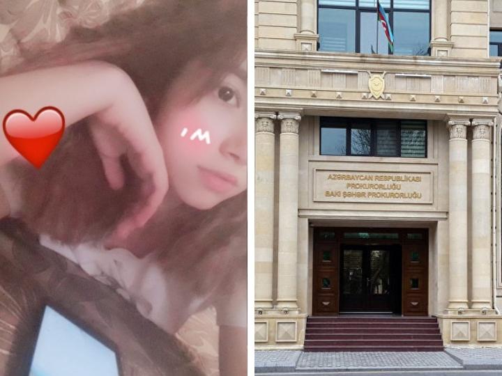 Прокуратура Баку и управление образования о смерти ученицы школы №162