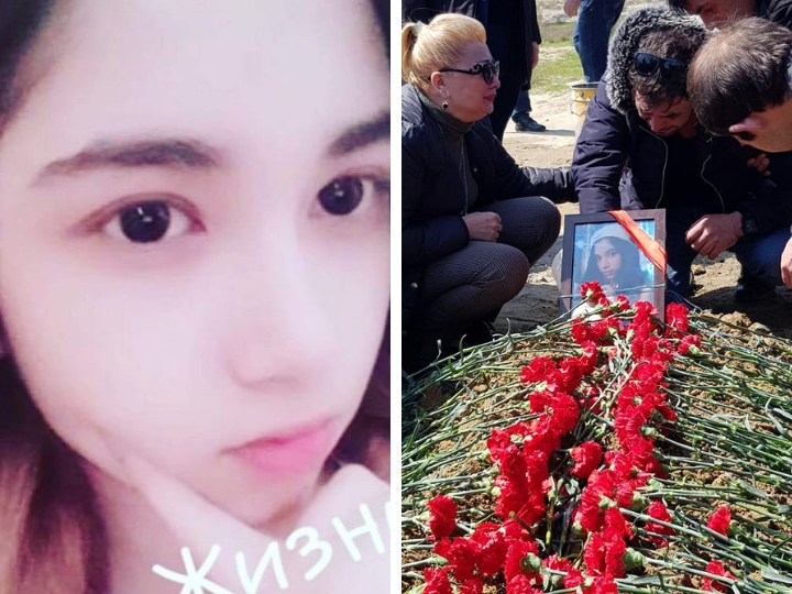 Состоялись похороны трагически погибшей ученицы школы №162 Элины Гаджиевой - ФОТО - ВИДЕО