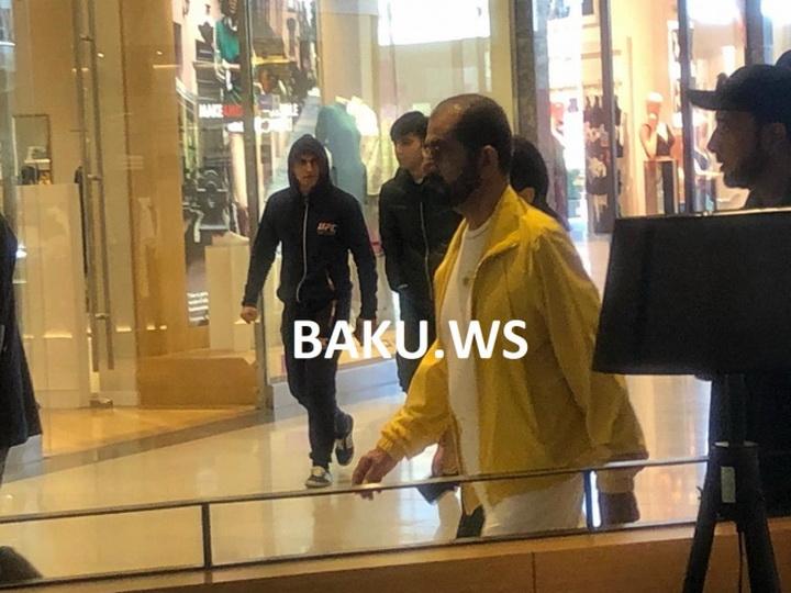 Эмир Дубая Мохаммед ибн Рашид Аль Мактум находится в Баку - ФОТО