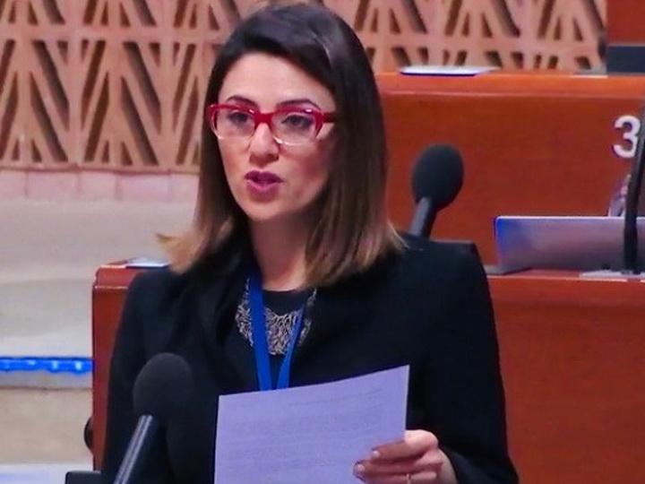 Азербайджанский депутат рассказала в ПАСЕ о проводимой Арменией антиазербайджанской пропаганде дезинформации