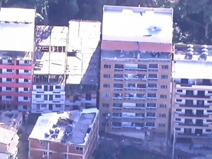 Два жилых дома обрушились в Рио-де-Жанейро
