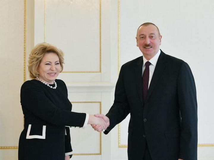 СМИ исказили слова Валентины Матвиенко во время визита в Азербайджан - ОФИЦИАЛЬНОЕ ЗАЯВЛЕНИЕ - ВИДЕО