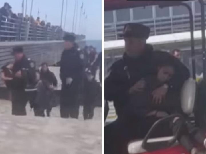На бакинском бульваре 15-летняя девочка бросилась в море - ВИДЕО