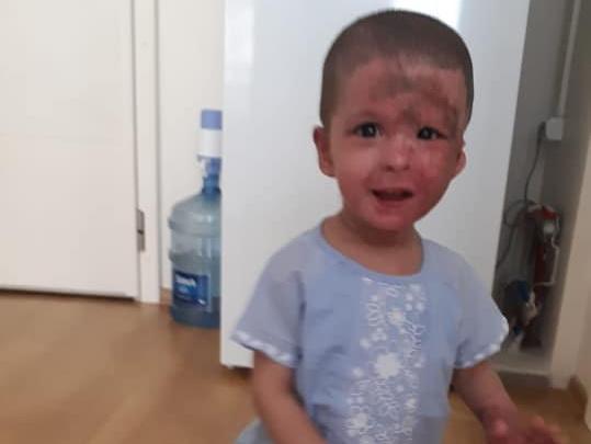 Маленькой Анжеле исполнилось два годика. Накануне ее навестила мама – ФОТО – ВИДЕО