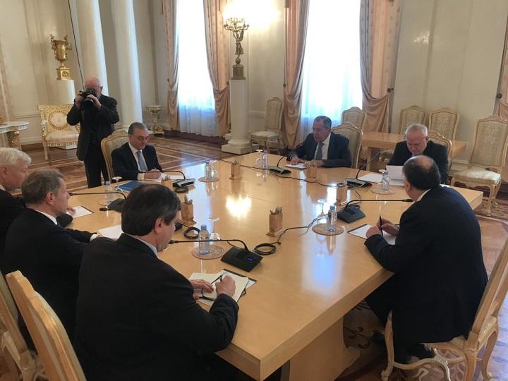 XİN Azərbaycan və Ermənistan nazirlərinin Moskva görüşü barədə bəyanat yaydı