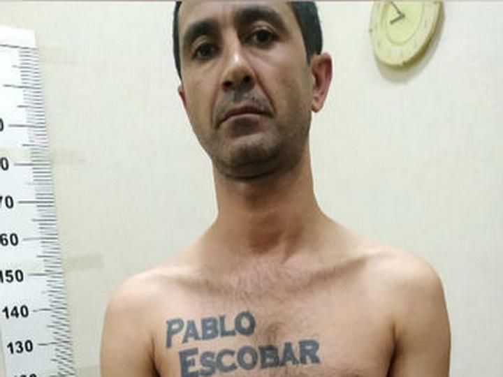 В Баку задержан «наркобарон Пабло Эскобар» - ФОТО