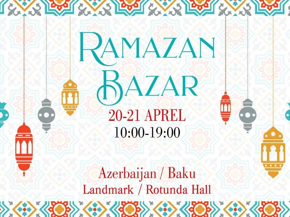 Подарите детям радость: в преддверии Рамазана в Баку пройдет благотворительная ярмарка – ФОТО