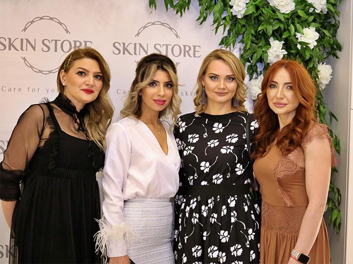 В Баку открылся концептуальный центр косметологии Skin Store - ФОТО