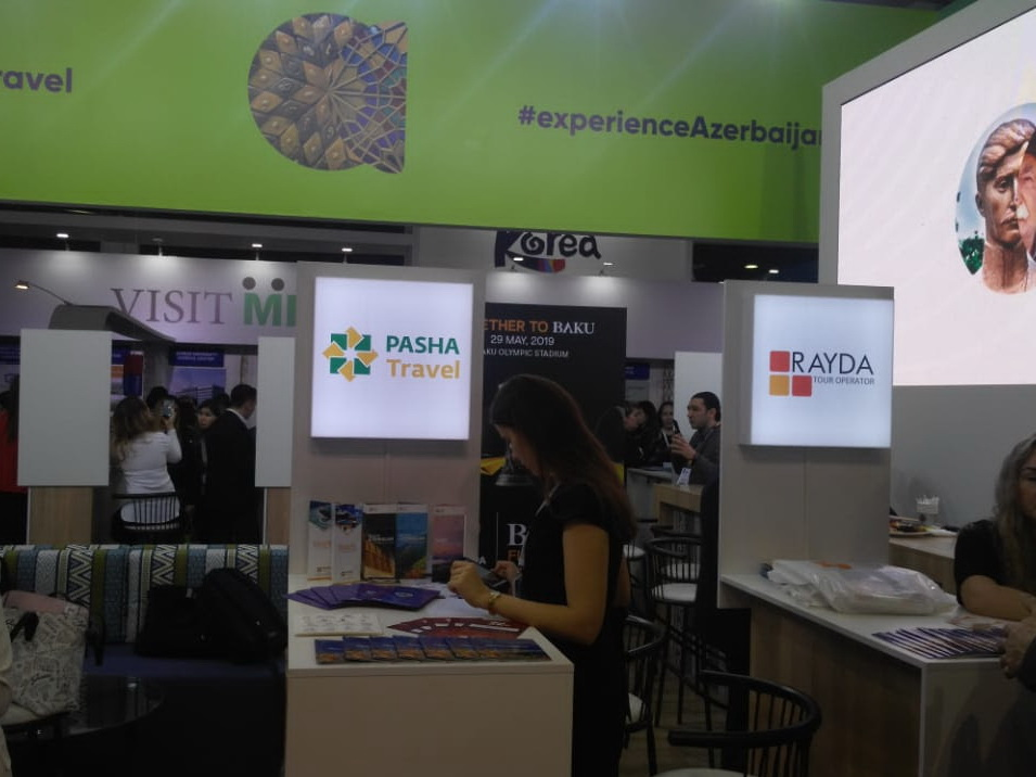 Азербайджан представлен на международной выставке в Алматы – ФОТО