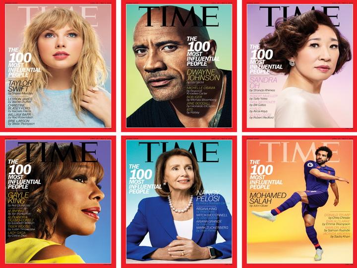 Мохаммед Салах, Дуэйн Джонсон, Тейлор Свифт и другие наиболее влиятельные люди мира по версии TIME – ФОТО