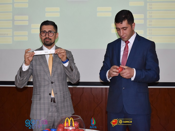 Дан старт Кубку Гянджи MFL - ФОТО - ВИДЕО