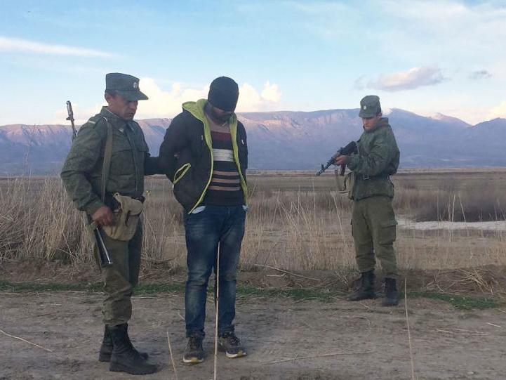 Пакистанец пытался проникнуть на территорию Армении из Турции