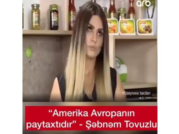 «Америка – столица Европы», или Пара слов о том, как азербайджанское ТВ превратилось в площадку для неучей – ВИДЕО