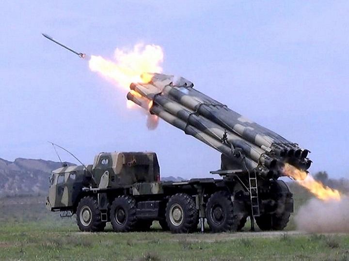Raket və artilleriya bölmələri döyüş atışları icra edib –FOTO – VİDEO
