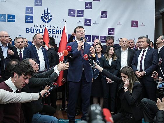 Экрем Имамоглу официально объявлен мэром Стамбула – ФОТО