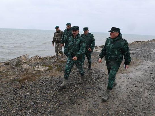 Эльчин Гулиев проверил исполнение поручений Ильхама Алиева на пограничных с Россией КПП - ФОТО
