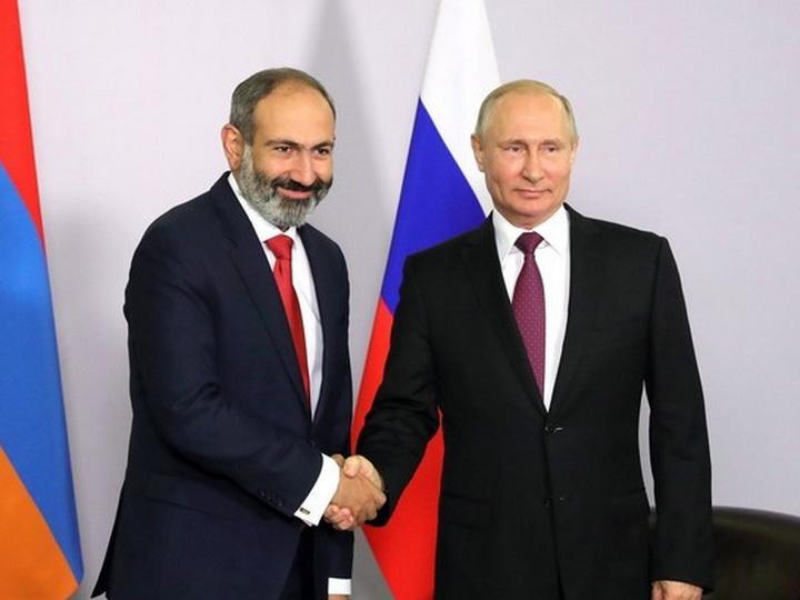 Путин и Пашинян могут встретиться 29 мая