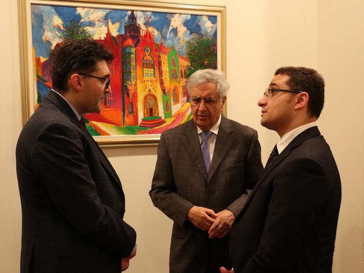 Помощник Первого вице-президента Азербайджана встретился с членами Американо-азербайджанской торговой палаты - ФОТО