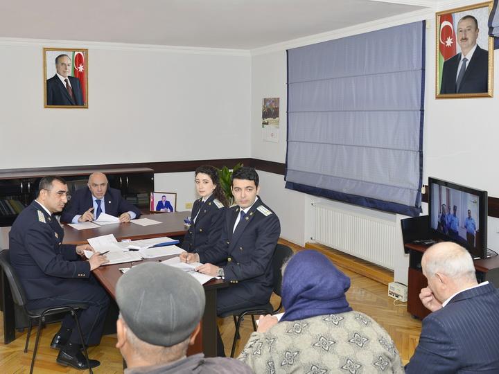 Закир Гаралов принял граждан в Уджаре