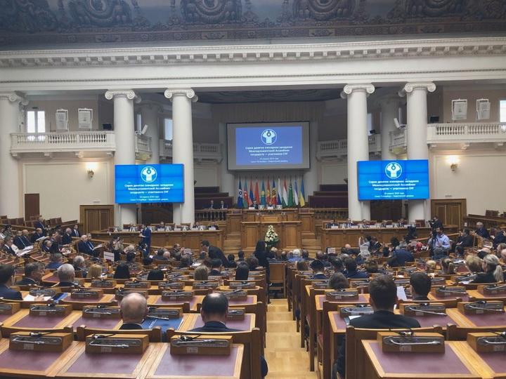 В Санкт-Петербурге состоялось 49-е пленарное заседание Межпарламентской Ассамблеи СНГ - ФОТО
