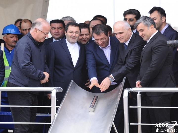 Hacıqabulda avtomobil istehsalı zavodunun təməli qoyulub – FOTO