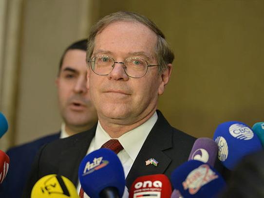 Посол США в Азербайджане: Надеюсь, что министры продолжат диалог по карабахскому урегулированию