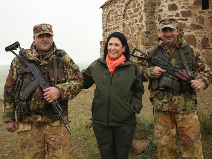 Саломе Зурабишвили: «Срочно нужно решить вопрос установления границы с Азербайджаном»