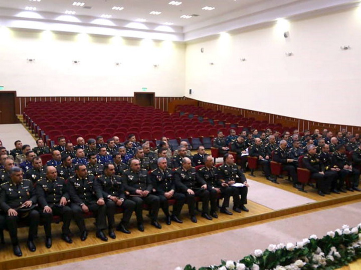Проанализировано состояние воинской дисциплины в Бакинском Гарнизоне - ФОТО
