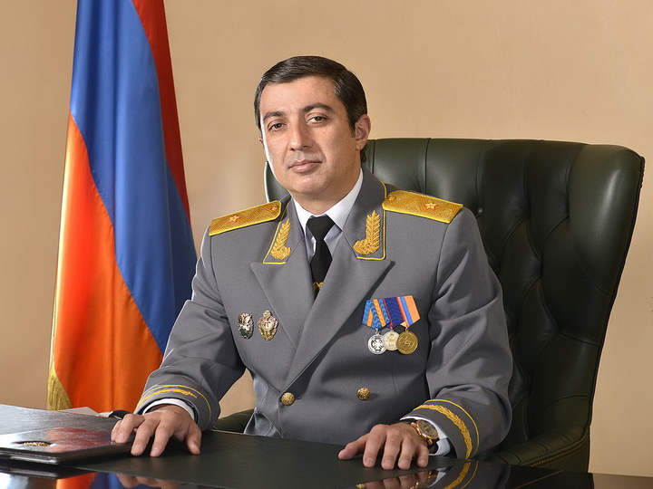 В России по запросу Еревана задержали главного судебного пристава Армении