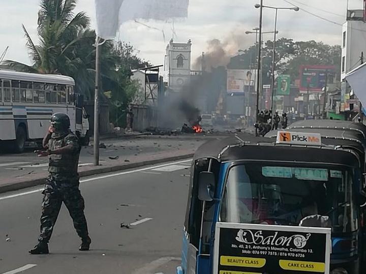 На Шри-Ланке произошел еще один взрыв недалеко от церкви - ФОТО