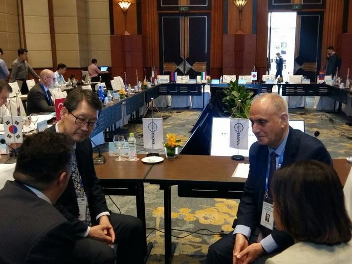 В Ханое состоялась встреча руководителей АЗЕРТАДЖ и Yonhap