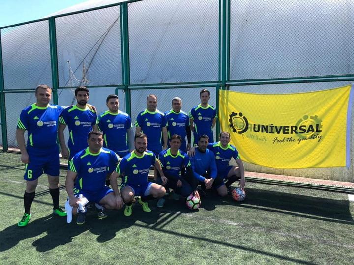 Сборная спортивных медиа «Universal» представила Азербайджан на международном турнире в Одессе