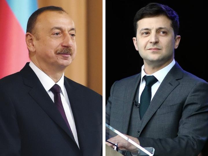 Президент Азербайджана поздравил Владимира Зеленского