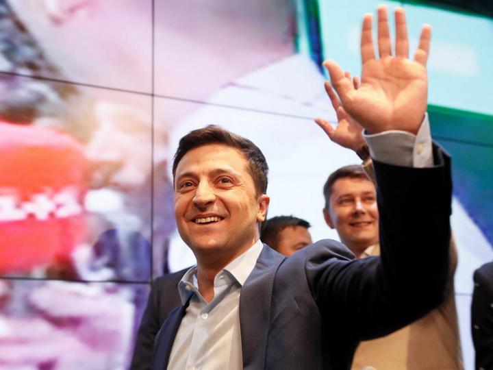 Граждане Украины в Азербайджане проголосовали за Зеленского